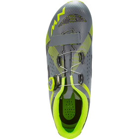 Northwave Storm Shoes Men anthracite/yellow fluo